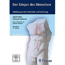 Der Körper des Menschen (Grafik-CD)für Win Apple Mac OS X; Vista; XP; 2000; ME; 9x. Abbildungen für Unterricht und Vorlesung