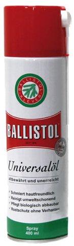 Ballistol Dosentresor 400 ml Leerdose, Rot/Weiß