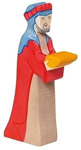 Holztiger- Navidad Gaspar Figura de Juguete, (80293)