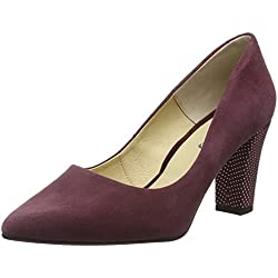 Piazza Damen 930511 Pumps, Rot (Inkarot), 41 EU