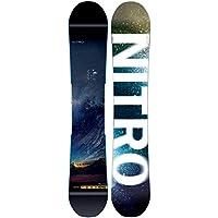 Nitro Hombre Freestyle Snowboard Team Exposure Wide BRD, Hombre, 0, 157