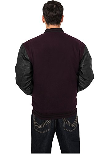 TB103 Half-Leather College Jacket Herren Outdoor Jacke - 4