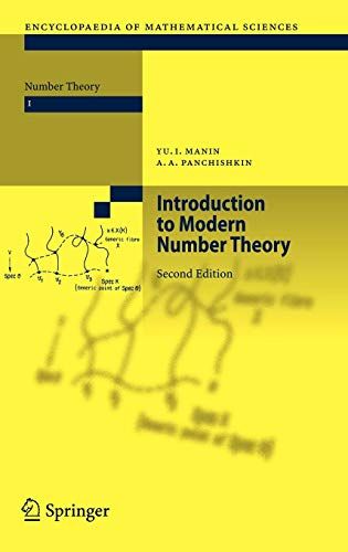 Introduction to Modern Number Theory: Fundamental Problems, Ideas and Theories (Encyclopaedia of Mathematical Sciences (49), Band 49)