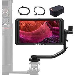 Feelworld Master MA5, 5 Pouces Moniteur sur Caméra, 1920x1080 4K HDMI IPS Full HD Caméra Champ Monitor Assistance vidéo Ecrans de visée pour Stabilisateur Cardan DSLR Caméscope