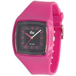Fizz 5010222 Unisex Pink Plastic Strap Watch
