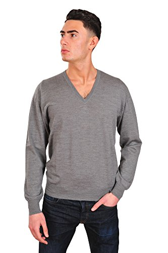 brioni-pull-homme-gris-fonce