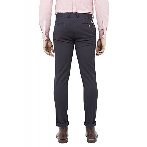 Pantalon Chino Skinny Fit Stretch Ben Sherman Noir Bleu Marine