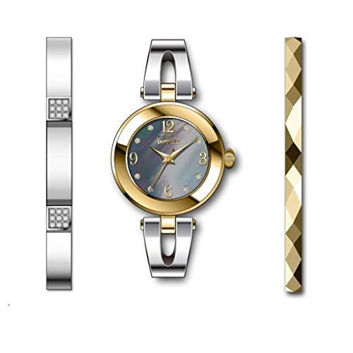 Invicta Angel Reloj de Mujer Cuarzo Correa y Caja de Acero dial Gris 29336