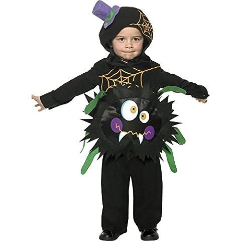 Smiffys carnaval de disfraces de Halloween Disfraz de araña Fool bebé de dibujos animados de