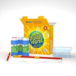 Dulcop- Bubble World 500.013600 - Kit de Burbujas de jabón y Juguete