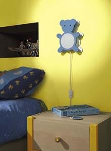 Massive Halogen-Kinderzimmer Tisch-/Wandleuchte Orso 430435530