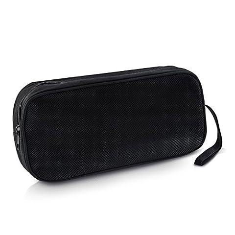 kwmobile Nylon Tasche Hülle für Laptop-Zubehör - Schutzhülle für Laptop-Zubehör in Schwarz