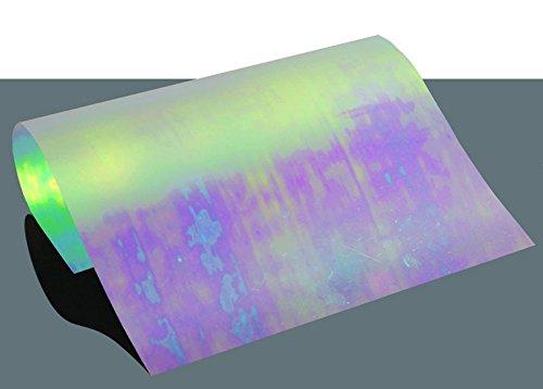 Flex Bügelfolie Clear Rainbow A4