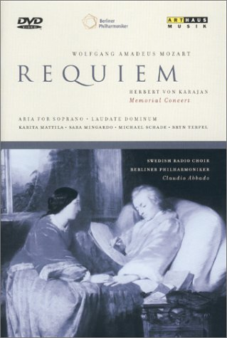 Karajan Memorial Concert - Mozart: Requiem / Claudio Abbado [Import USA Zone 1]