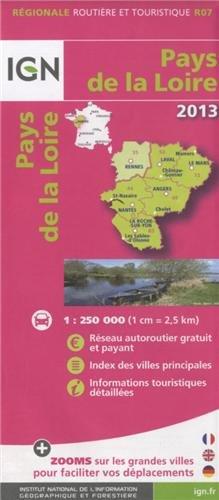 R07 PAYS DE LA LOIRE 2013 1/250.000