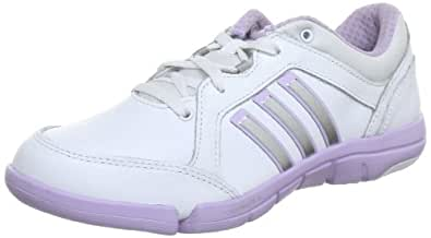 adidas a.t. Mardea, Chaussures de danse femme - Blanc (Running White Ftw / Bliss Purple S13 / Bliss Purple S13), 36 EU