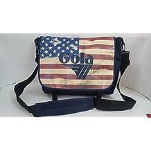b541aabefd Tracolla Shoulder Bag Gola Harris USA Navy 42x32cm
