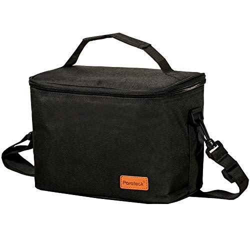 Borsa frigo piccola pieghevole, borsa termica per il lavoro, unisex, borsa pranzo, borsa da picnic, borsa isolante, campeggio, viaggio, barbecue, latte, colazione, bevande, tracolla regolabile