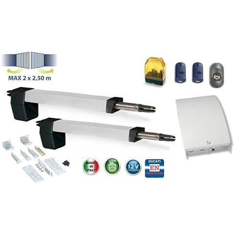 motorización para puerta batiente 2 hoja HC812-300