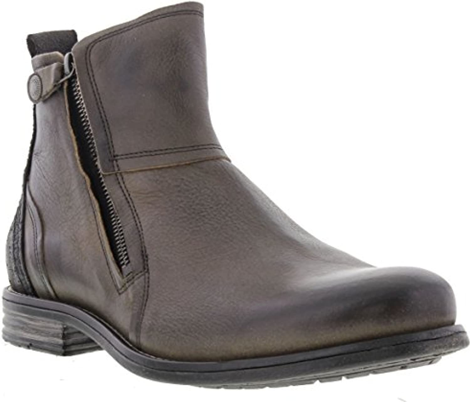 Sneaky Steve Mens Heron Leather Boots