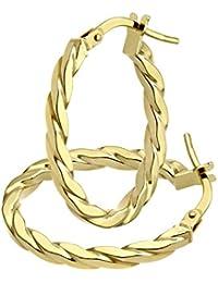 Citerna - Pendientes de oro amarillo