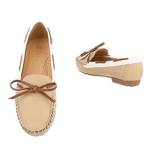 Ital-Design - Scarpe chiuse Donna Arancione