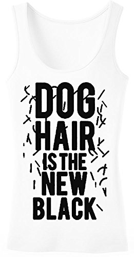 Dog Hair Is The New Black Women's Tank Top Shirt XX-Large