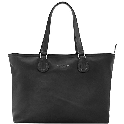 The Bridge Park Sac à main - Fourre-tout cuir 40 cm nero