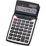 Genie Taschenrechner 84 14 stellig schwarz/silber