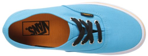Vans U Authentic (Pop)bluatoll/a, basket mixte adulte Bleu - Blau ((Pop) blue atoll/autumn glory)
