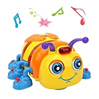TINOTEEN Musical Baby Toy for Toddlers Crawling and Singing Bee Toys