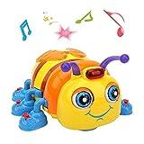LUKAT Musik Baby Spielzeug für 1, 2, 3, 4 Jahre alt Kleinkinder Kinder, Krabbeln und Singen Biene Spielzeug
