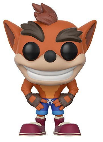 Funko - POP! Vinilo Colección Crash Bandicoot - Figura Crash Bandicoot (25653)