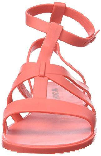 Zaxy Damen Dual Sandal Fem Knöchelriemen Rose (Coral)
