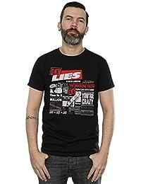 Guns N Roses Homme GNR Lies T-Shirt Large Noir