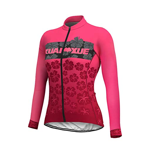 Uglyfrog Atmungsaktiv Schnelltrocknend Fahrradtrikot Outdoor Lange Ärmel Radsport-Shirt