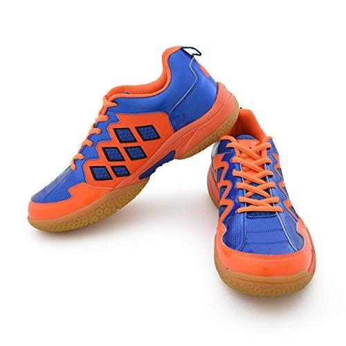 Vector X CS-2010 Badminton Shoes, UK 10 (Blue/Orange)