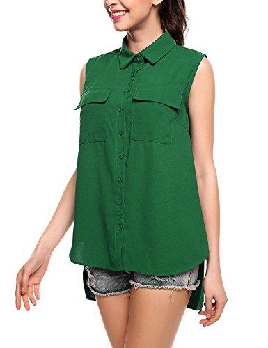 timeless design 385fd 73dfa Camicia smanicata per l'estate casual-chic - consigli.it