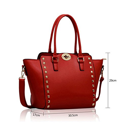 Xardi London, Borsa tote donna medium Red