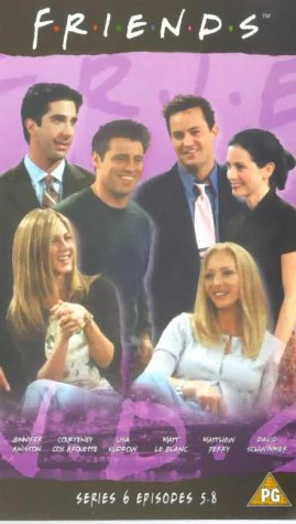 Click for larger image of Friends - Series 6 - Episodes 5-8 [VHS]