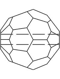 Strasssteine Swarovski Elements Glasperlen Beads 5000 MM 10,0 - Light Colorado Topaz (246)
