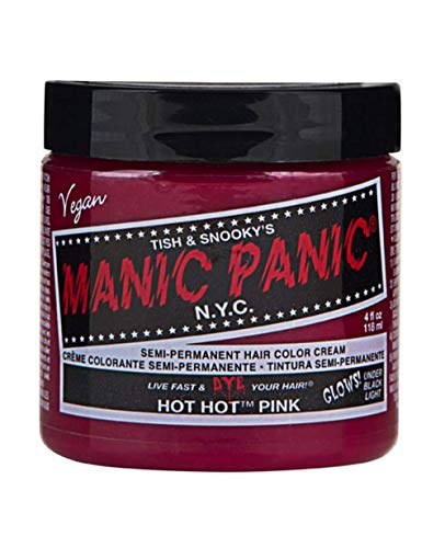 Manic Panic High Voltage Hot Hot Pink Classic Hair Color 118ml