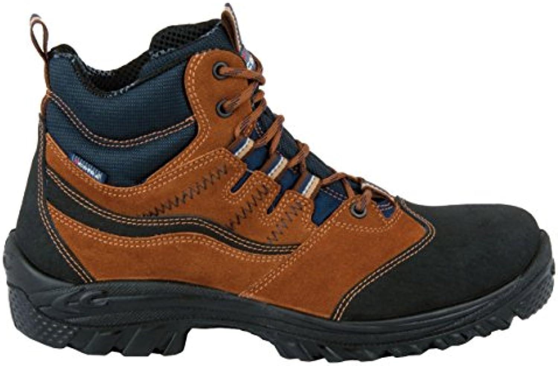 Cofra Riad S1 P SRC par de zapatos de seguridad talla 39 MARRÓN
