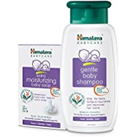 Himalaya Baby Care Mini Bathing Kit (Extra Moisturising Baby Soap 75g (Pack of 3) & Shampoo 100 ml)