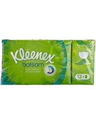 Kleenex Etuis Balsam 12 Mouchoirs - Lot de 4