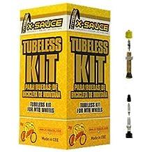 "X-Sauce Conversor KIT Tubuless 27,5, Ciclismo, Amarillo, 27.5"""