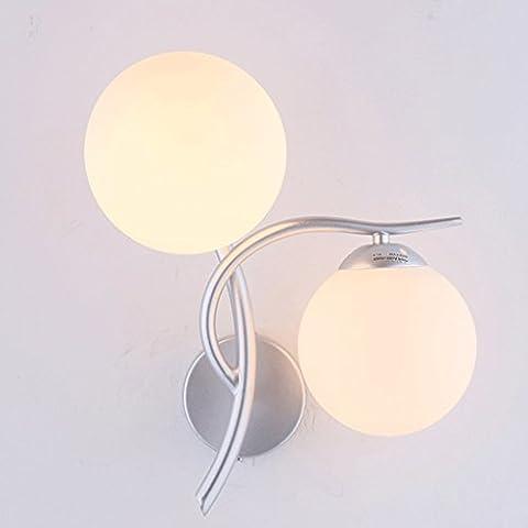 YYF Wandlampe LED-Wandleuchte Nachttischlampe kreative moderne minimalistische Schlafzimmer Balkon Aisle