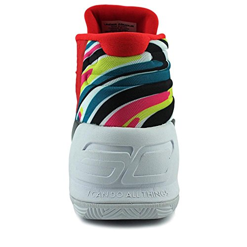 Under Armour Curry 3 Toile Baskets RED MULTI