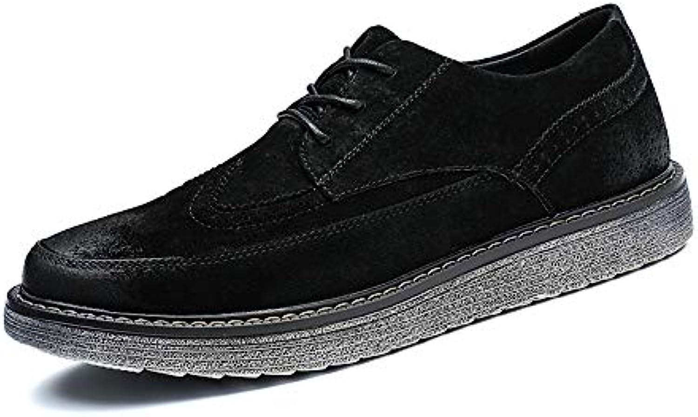 xiaojuan chaussures semelle britannique oxford business décontracté, les hommes jeunes taille... (couleur des chaussures rétro - richelieu: noir, taille... jeunes 935a17