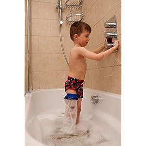 LIMBO Dusch- und Badeschutz für das ganze Bein, oberschenkellang, Kinder, FL67, 6-7 Jahre